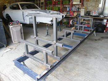 Datsun 240z Chassis Jig