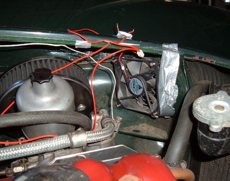 electric-fan Wiring A Electric Fan In Car Diagram on