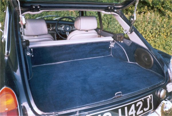 Mgb Interior Trim With Connelly Leather And Wilton Carpets