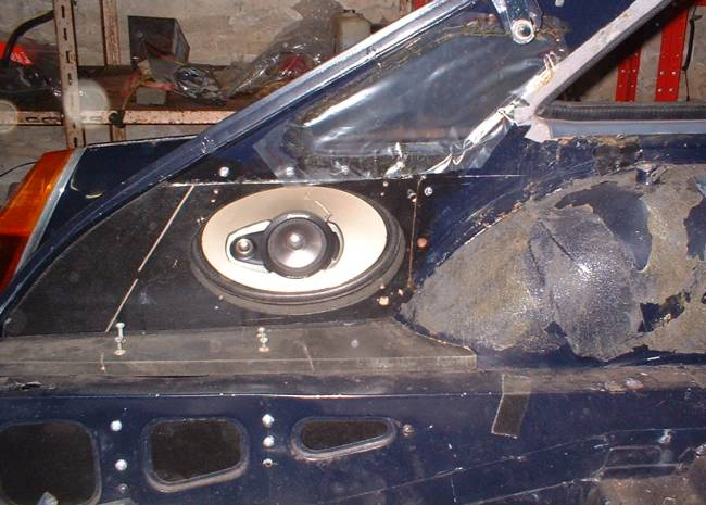 Mgb V8 Radio And Speaker Installation